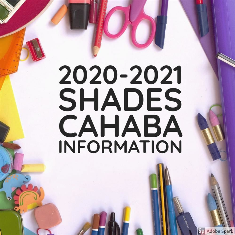 2020-2021 Shades Cahaba Information (SPANISH)