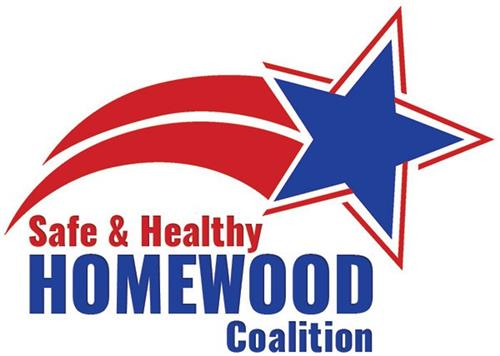 Safe and Healthy Homewood Coalition Logo