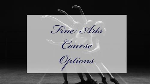 Fine Arts Course Options