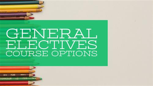 General Electives Course Options