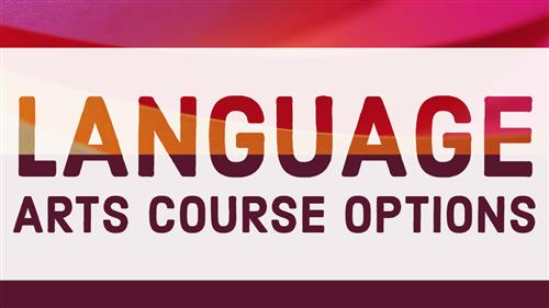 Language Arts Course Options