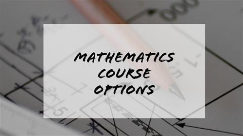 Math Course Options